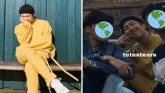 가족 여행 사진에 방탄소년단 'RM'이 찍혀있는 것을 뒤늦게 본 '해외 아미'