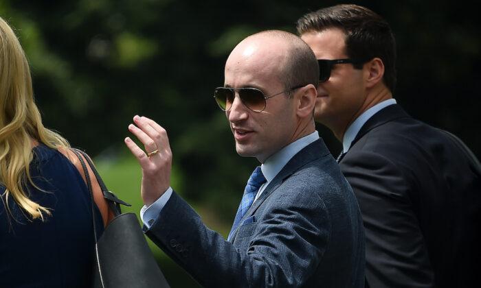 스티븐 밀러 전 백악관 선임보좌관. 2020.8.6 | Olivier Douliery/AFP via Getty Images