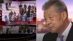 """""""위구르족 탄압 없다""""고 생떼 부리는 중국대사 앞에서 '강제 수용소' 영상 틀어버린 BBC"""