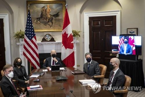 미 바이든, 내달 1일 멕시코 대통령과 화상 정상회담