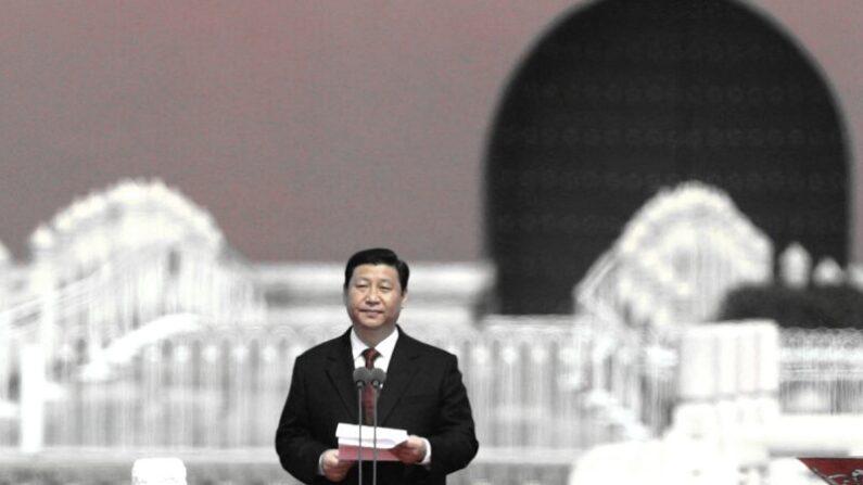 시진핑이 최근 중국공산당 중앙정치국 회의에서 '블랙스완' 등을 강조했다. 사진은 2008년 3월 31일 당시 베이징 톈안먼 광장에서의 모습 |  Feng Li/Getty Images