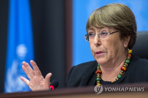 """유엔 인권대표 """"중국, 신장위구르·홍콩 인권 억압"""""""