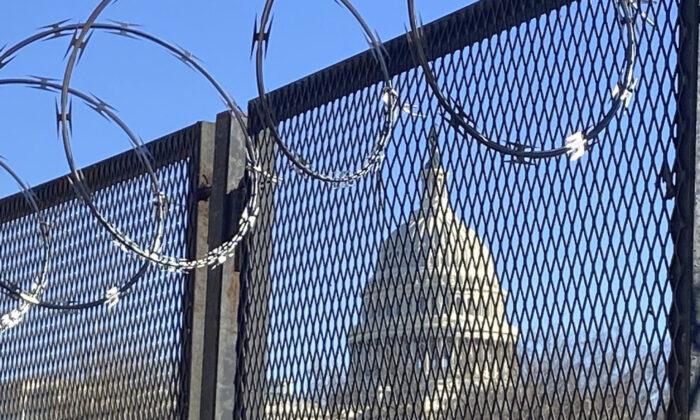 미국 연방의회 의사당 2021.1.23   AP Photo/Eileen Putman