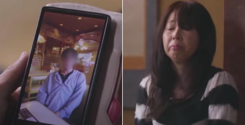 한순간 '증발'해버린 남편을 하염없이 기다리는 아내가 눈물 꾹 참으며 전한 말 (영상)