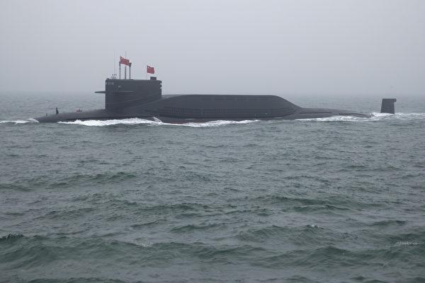 094형 중공 전략핵잠수함(MARK SCHIEFELBEIN/AFP via Getty Images)