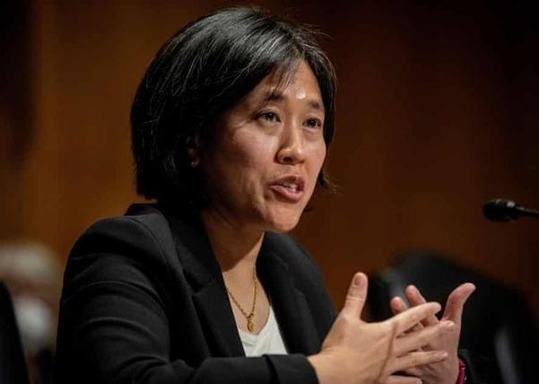 캐서린 타이 미국 무역대표부(USTR) 신임 대표. | 로이터 연합뉴스