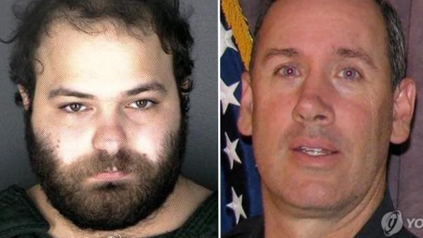 콜로라도 총격 용의자 아흐마드 알리사(좌), 총격 사건으로 희생된 경찰관 에릭 탤리(우) |  Photo by Boulder Police Department/UPI=연합; 로이터=연합