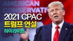 트럼프, 퇴임 후 첫 공식석상 연설.. 중국에 대해 경고하는 전문가들 | CPAC 2021 하이라이트
