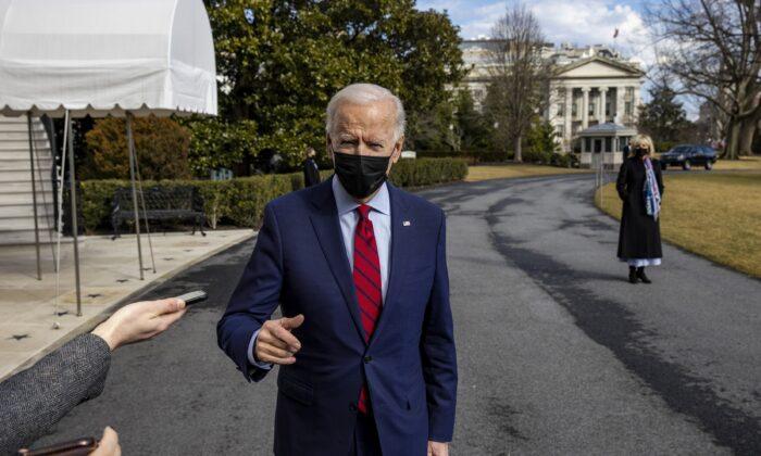 조 바이든 미국 대통령. 2021.2.27   Tasos Katopodis/Getty Images