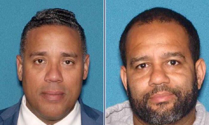 마이클 잭슨(좌)과 알렉스 멘데즈(우). | N.J. Attorney General's Office