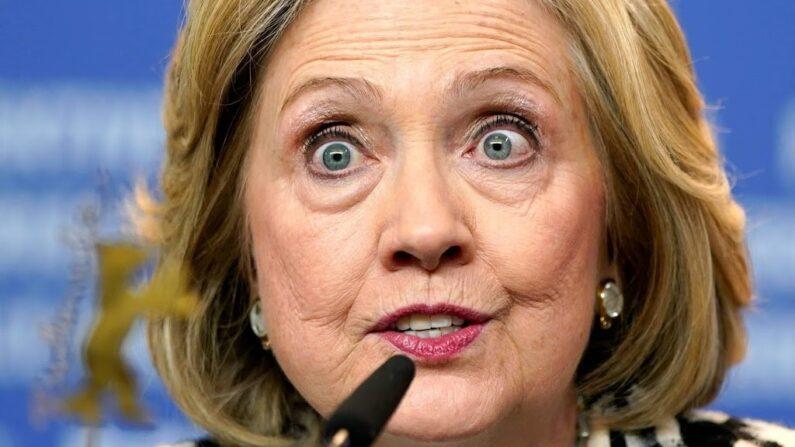 힐러리 클린턴 전 민주당 대선후보 | EPA 연합뉴스