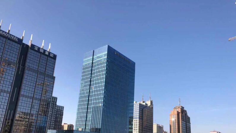 (베이징=연합뉴스) 김윤구 특파원 = 16일 오전 중국 베이징 도심 하늘이 맑게 개어있다. | 연합