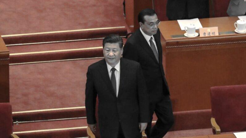 시진핑 중국 공산당 총서기(왼쪽)과 리커창 국무원 총리(오른쪽) | Andrea Verdelli/Getty Images