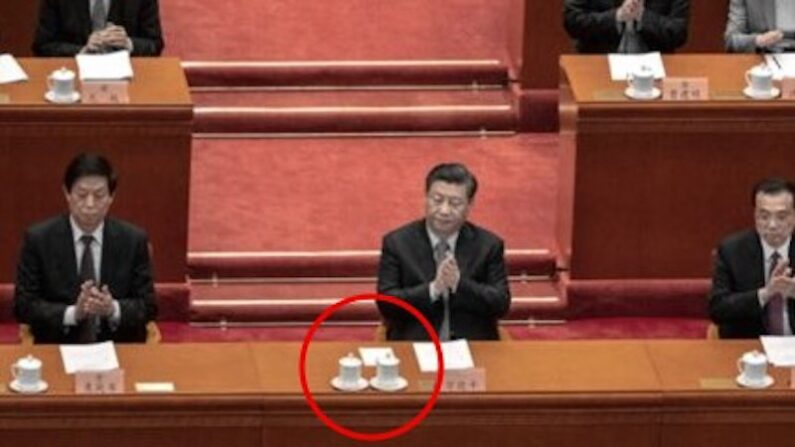 3월 4일 베이징 인민대회당에서 열린 양회에 참석한 시진핑 중국 공산당 총서기 | Kevin Frayer/Getty Images