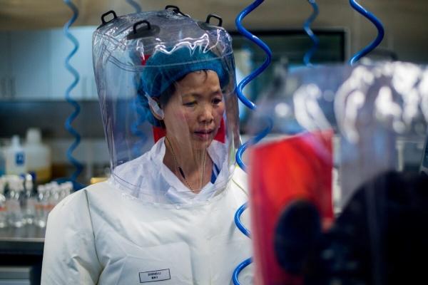 우한 바이러스 연구소  P4 실험실의 스정리 박사. | Johannes Eisele / AFP via Getty Images