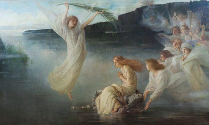 비센테 팔마롤리(Vincente Palmaroli)의 '성녀 크리스티나의 순교(The Martyrdom of Saint Christina)', 1895년, 스페인 프라도 미술관. |Public Domain