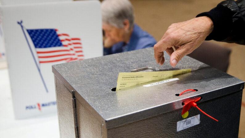 미국의 한 투표 장면 | AP=연합