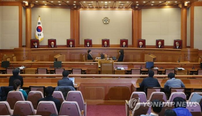 기사와 직접 관련 없는 자료사진. 헌법재판소. | 연합뉴스