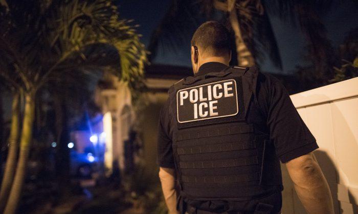 이민세관단속국(ICE) 요원. 2018.3.21   ICE