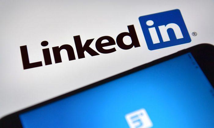 링크드인(LinkedIn) 로고. | Carl Court / Getty Images