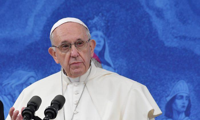 프란치스코 교황 | Tiziana Fabi/AFP/Getty Images