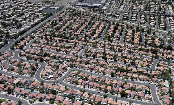 미국 네바다주 라스베이거스에 위치한 단독주택지 전경. | AFP 연합뉴스