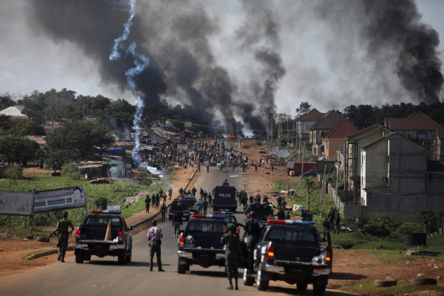 나이지리아서 무장단체가 교도소 폭파해 죄수 1800명 탈옥