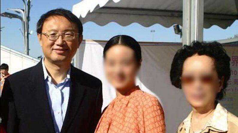 양제츠 중국 공산당 외교담당 정치국원(좌)과 딸 양자러(가운데) | NTD