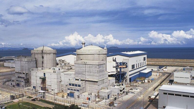 중공 다야만 원자력 발전소 전경 | 바이두