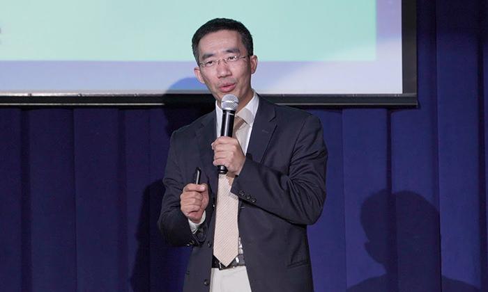 '시사논단 결전 2020'에서 발언하는 중국문제 전문가 장톈량(章天亮)   에포크타임스