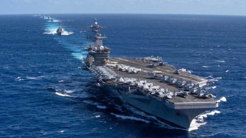 미 해군 항공모함 시어도어 루스벨트호 | 연합뉴스