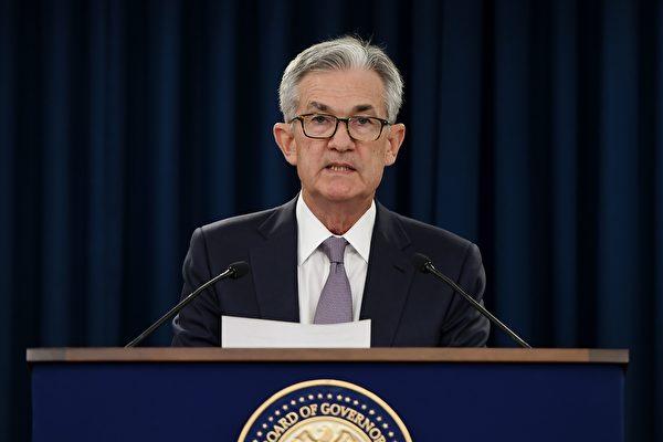 제롬 파월 미국 연준(연방준비제도이사회·Fed) 의장이 2019년 9월 한 기자회견에서 연설 중이다. | OLIVIER DOULIERY/AFP via Getty Image 연합