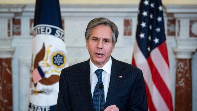 토니 블링컨 미 국무장관 | ALEXANDER DRAGO/POOL/AFP via Getty Images
