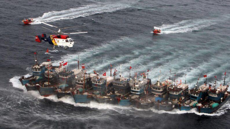 불법조업 중국어선 추적 | 중부지방해양경찰청 제공