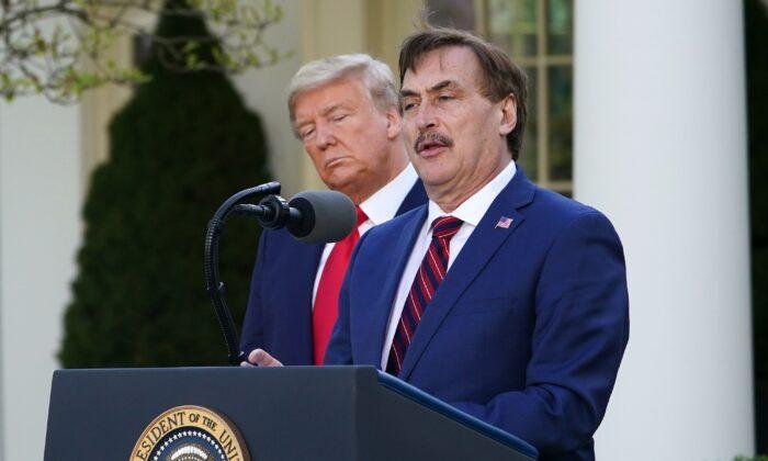 마이클 린델 마이필로우 최고경영자(CEO). 2020.3.30   Mandel Ngan/AFP via Getty Images 연합