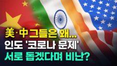 美-中 그들은 왜…인도 '코로나 문제'에 서로 돕겠다며 경쟁에 비난까지?