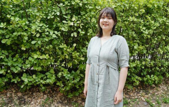 중국인 유학생 고윤지 양 | 사진=이유정 기자/에포크타임스
