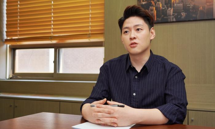 문성호 당당위 대표 겸 한국성범죄무고상담센터 소장. | 이유정/에포크타임스