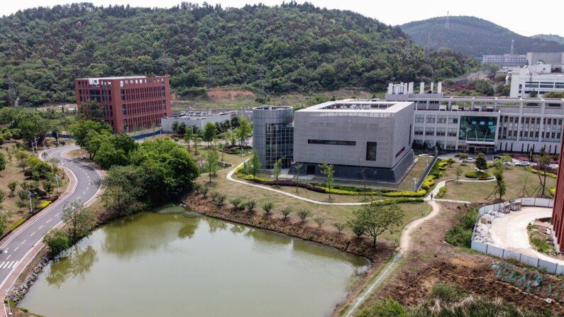 중국 우한 바이러스 연구소 전경   HECTOR RETAMAL/AFP via Getty Images/연합