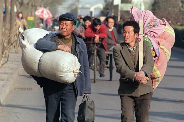 중국 농민공 | ROBYN BECK/AFP/Getty Images