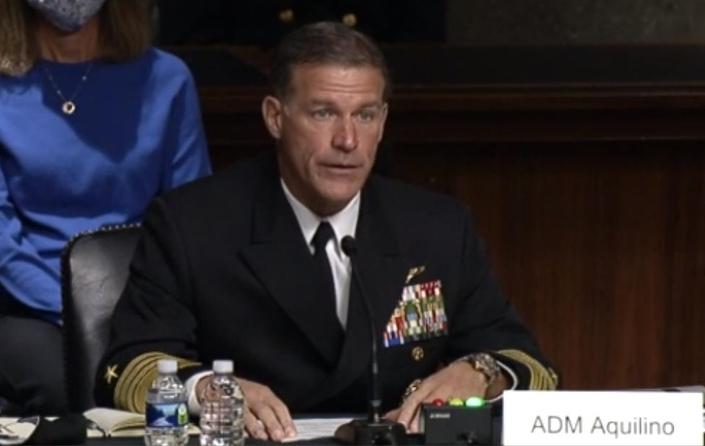 존 아킬리노(John Aquilino) 미군 인도태평양군 사령관 | 연합뉴스