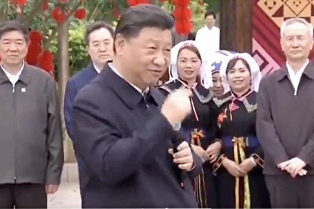 시진핑, 광시 소수민족 시찰의 숨은 이유