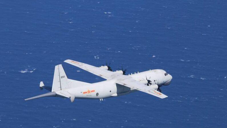 중공군 Y-8 ASW 해상초계기 | 대만 국방부 제공