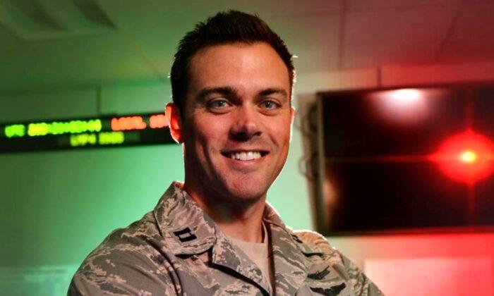 콜로라도주 버클리 공군기지 제 11 우주 경보 소대의 매튜 로마이어 중령. 2015.7.22 | Darren Scott/U.S. Air Force