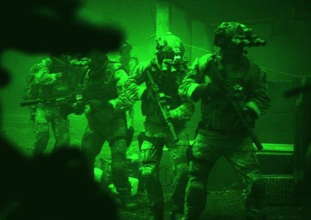 오사마 빈 라덴 사살작전에 투입된 네이비실 | 네이비실 홈페이지 캡처