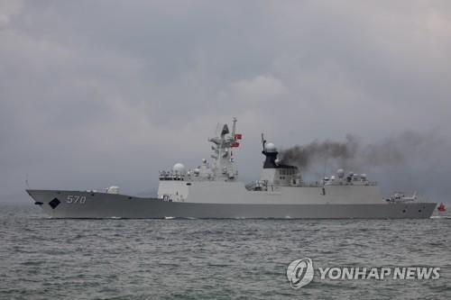 중국 해군 054 호우함 | EPA 연합뉴스