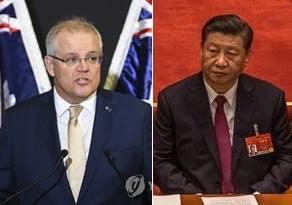 스콧 모리슨 호주 총리(왼쪽)과 시진핑 중국 국가주석(오른쪽) |  EPA=연합뉴스