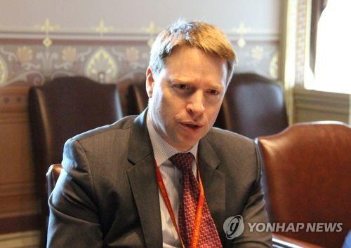 매슈 포틴저 미국 전 백악관 국가안보부보좌관   연합뉴스