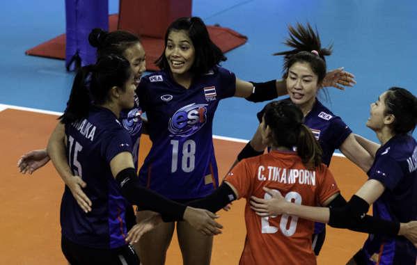 태국 여자배구 대표팀 | FIVB 제공