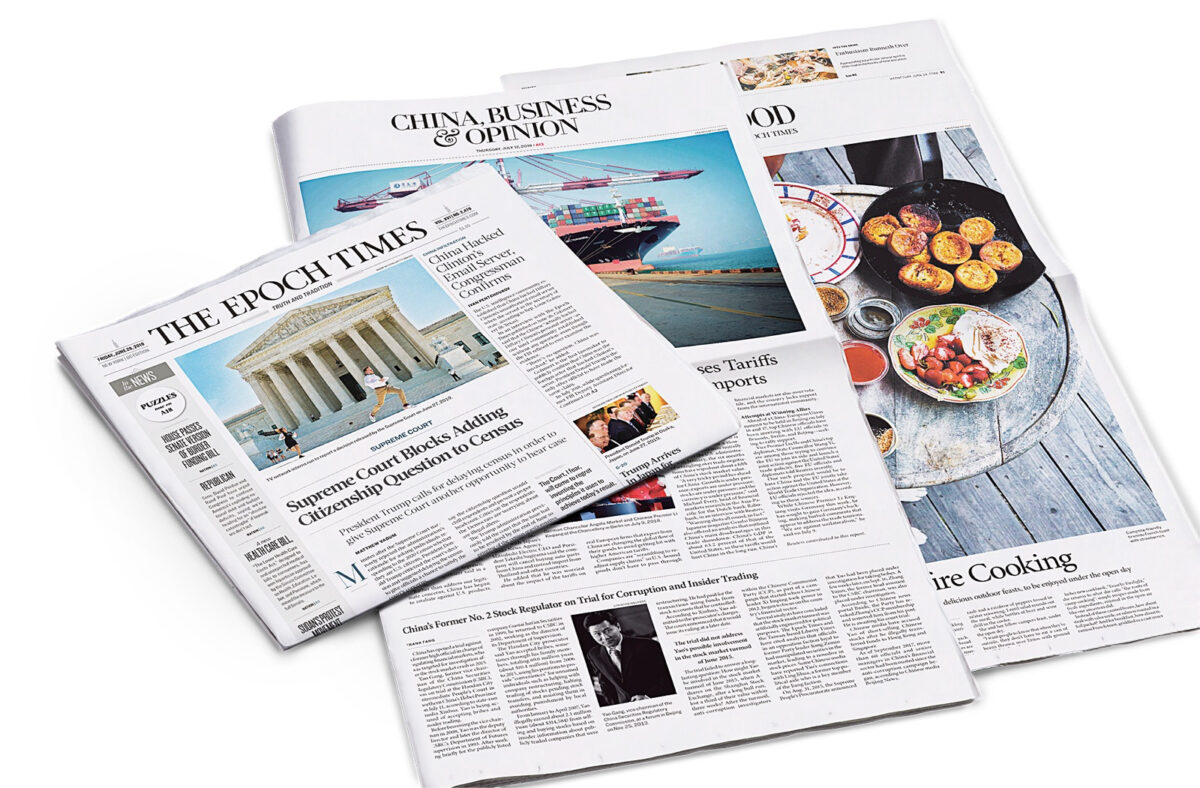 에포크타임스, NYT·AP·BBC·블룸버그와 비교해 가장 중립